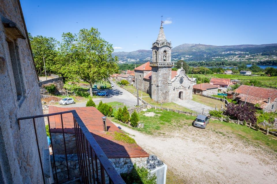 Galer a fotos abad a eiras casa rural en baixo mi o - Hotel con encanto galicia ...